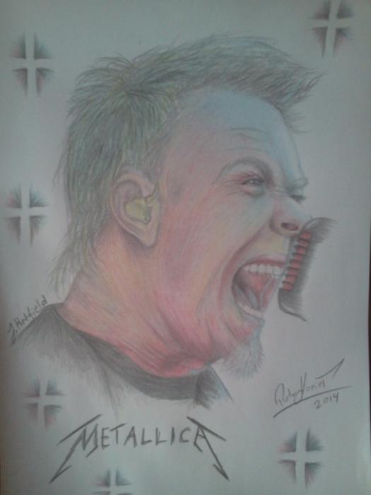 James Hetfield por Piotrekosp